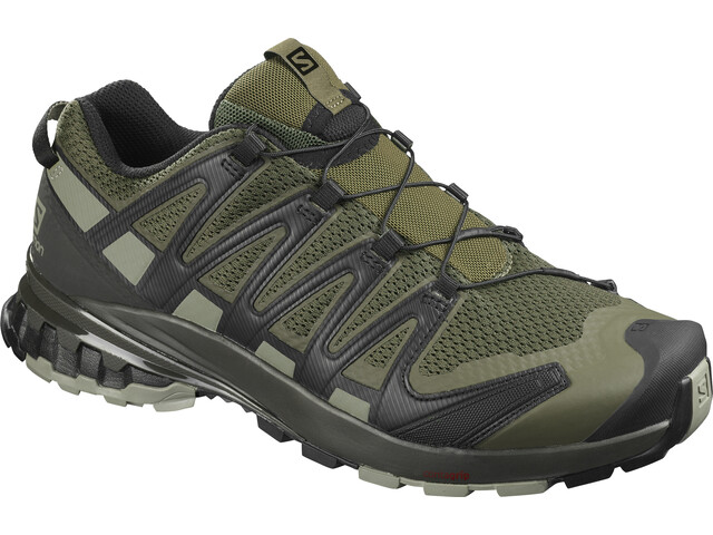Salomon XA Pro 3D v8 Shoes Wide Men, grape leaf/peat/shadow
